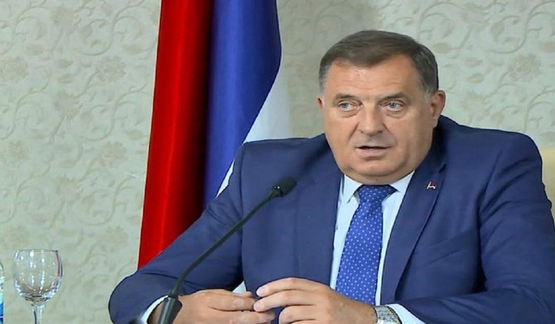 Lideri i serbëve të Bosnjës, Millorad Dodik, që nga viti 2017 është i sanksionuar nga SHBA