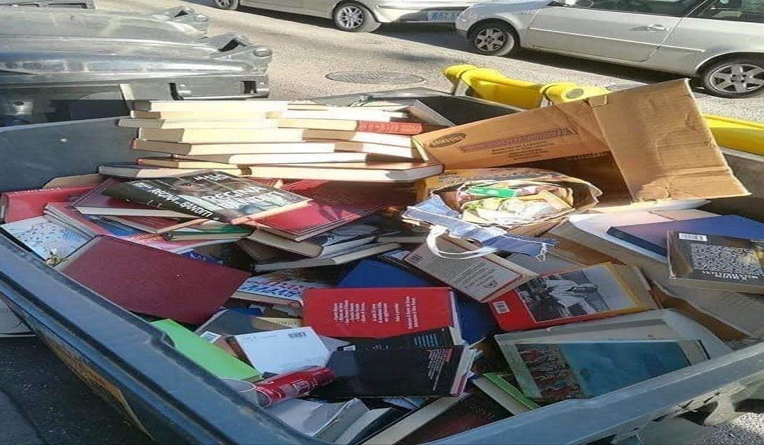 Ndalë! Mos i hidhni librat!
